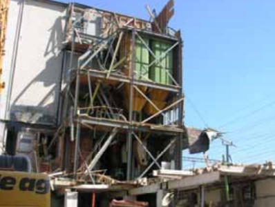 Hochbau Neubau Lagerhaus Müllheim-Wigoltingen