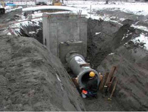 Tiefbau Strassenabwasserbehandlung